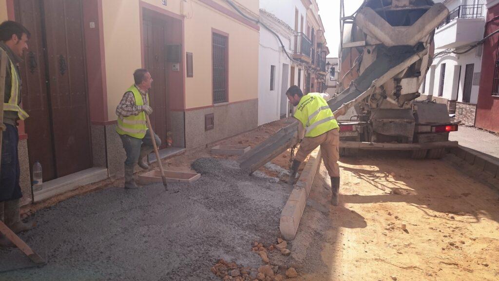 003 REMODELACIÓN DE CALLES BENARDO Y ROSARIO EN MAIRENA DEL ALCOR.