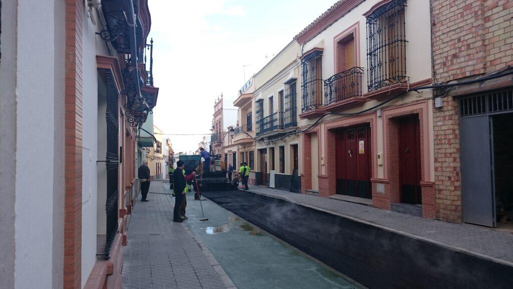 007 REMODELACIÓN DE CALLES BENARDO Y ROSARIO EN MAIRENA DEL ALCOR.