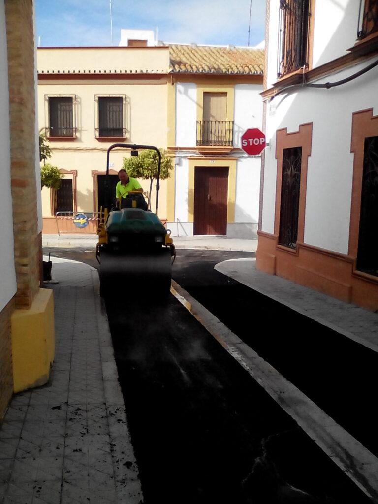 008 REMODELACIÓN DE CALLES BENARDO Y ROSARIO EN MAIRENA DEL ALCOR.