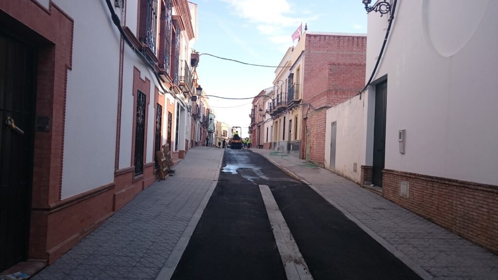 009 REMODELACIÓN DE CALLES BENARDO Y ROSARIO EN MAIRENA DEL ALCOR.